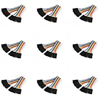 9 x Quantity of Walkera QR X350 PRO FPV (100mm) Super Clean RC Male to Male Ribbon Extensions Set(Servo Connector) - FAST FROM Orlando, Florida USA!