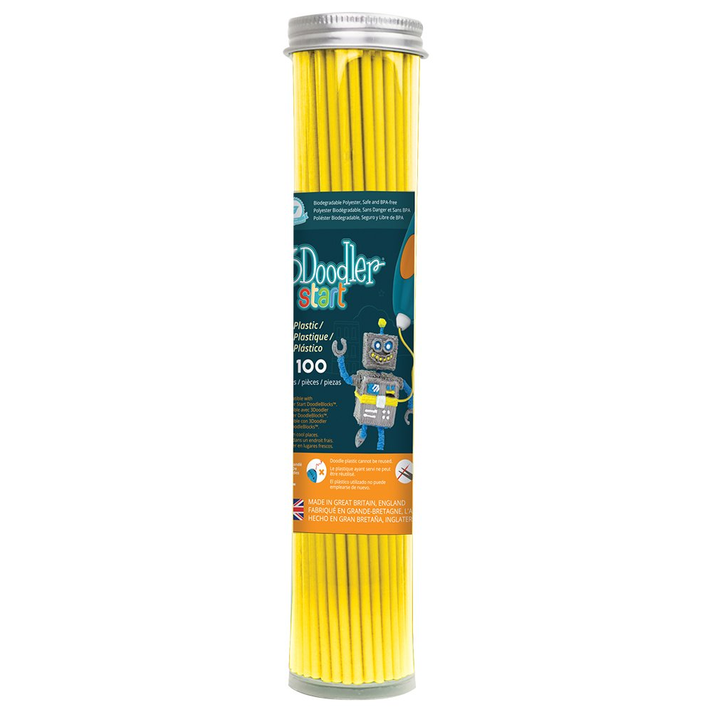 3Doodler Start Refill Kunststoff 3D-Druck Filament WobbleWorks Inc. 3DS-ECO19-BBLUE-100