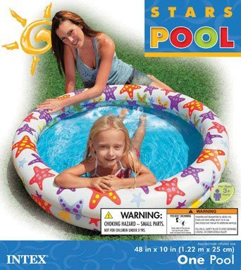 Intex Stargaze Inflatable Pool, 48 x 10