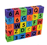 Foam Number Alphabet Letters ABC/123 Animal Multi-colored Baby Blocks Toys,1SET=30PCS