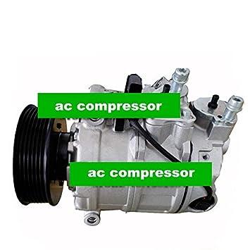 GOWE AC a/c compresor y embrague para Volkswagen para coche Volkswagen touarge y para coche Porsche Cayenne Compresor De Aire Acondicionado: Amazon.es: ...