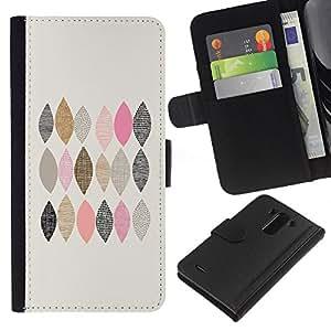 All Phone Most Case / Oferta Especial Cáscara Funda de cuero Monedero Cubierta de proteccion Caso / Wallet Case for LG G3 // Checkered Pattern Hand Drawn Minimalist