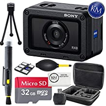 Sony RX0 Ultra-Compact Waterproof Camera + 32 GB Memory + Accessory Bundle