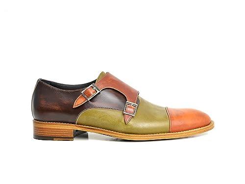 DIS 130D00020202XX_320F0E0D10 - Mocasines de Piel para Hombre: Amazon.es: Zapatos y complementos