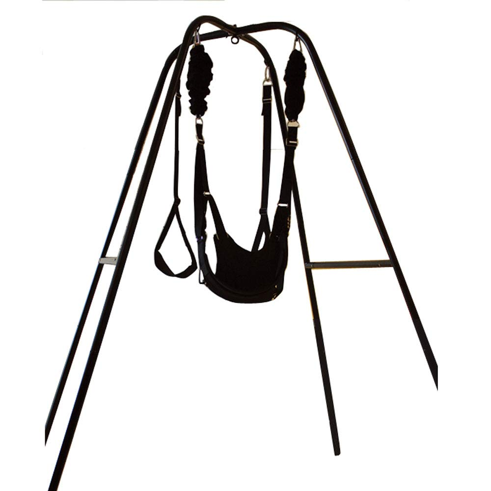 Fad-J Sex Swing Stand with Wrist,Swing for Yoga Sex Toy Restraints Clamp Belt, for Couples by Fad-J