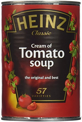 - Original Heinz Classic Cream of Tomato Soup Imported From The UK England The Best Of British Tomato Soup Pack Of Four