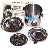 Vietnamese Traditional Coffee Filter (Phin) 11 Ounce, Gravity Insert