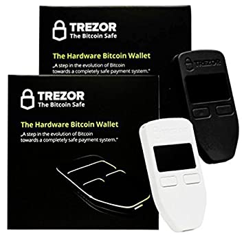 Blanco y Negro Combo Trezor hardware Wallet Vault Safe for ...