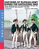 Uniforms of Russian army during the Napoleonic war