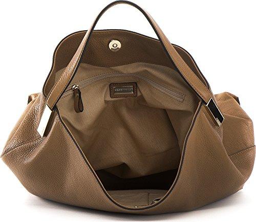 COCCINELLE, sacs à main femmes, sacs d'épaule, poches frontales, sacs hobo, cuir, 37 x 39 x 14 cm (H x L x P)