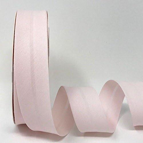 Cinta Al Bies de Color Rosa Bebé de 30 mm (25 metros): Amazon.es: Hogar