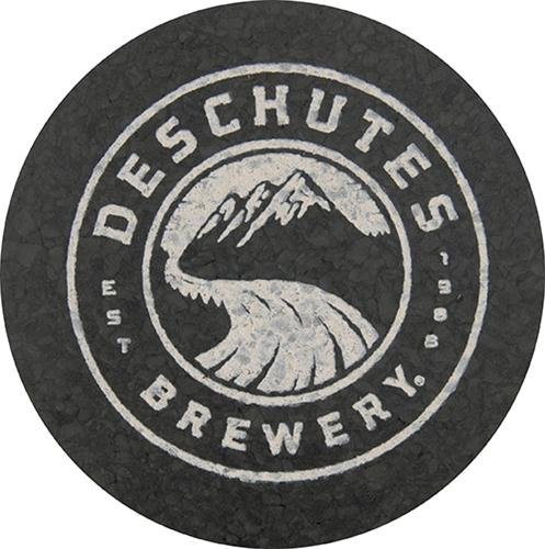 Deschutes Brewery Recycled Rubber Coaster