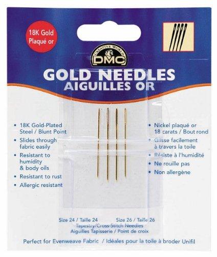DMC Gold Plated Needles