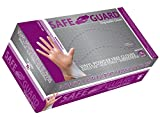 SAFEGUARD Vinly Powder Free Gloves, Large, 100 Count (Pack of 10)