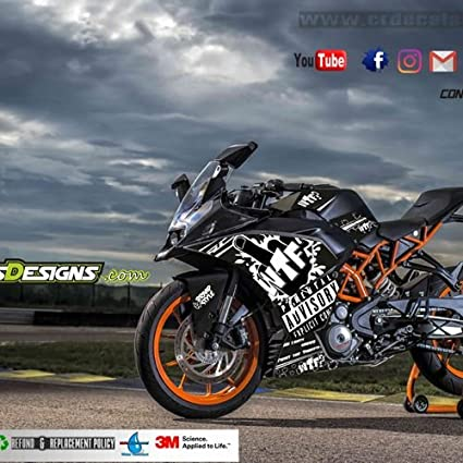 Generic KTM RC Braap Style Kit: Amazon in: Car & Motorbike