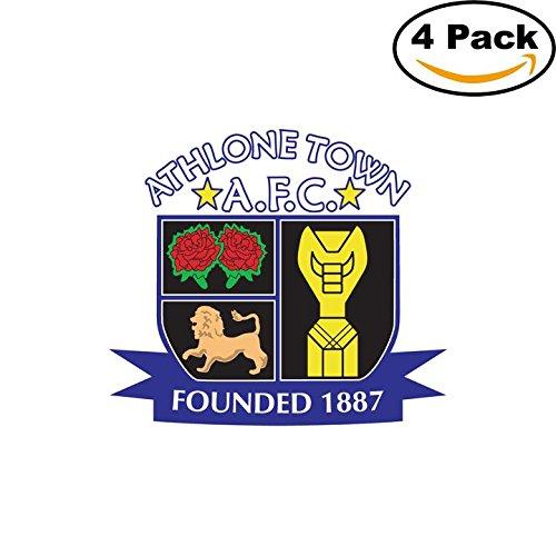 AFC Athlone Town Ireland Soccer Football FC Decal Logo 4 ...