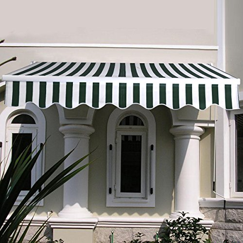 stripe-green-white-manual-patio-64x5-retractable-deck-awning-sunshade-shelter-canopy-outdoor
