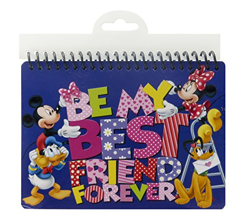 Disney Mickey and Gang Autograph-B Book - Nice Autograph