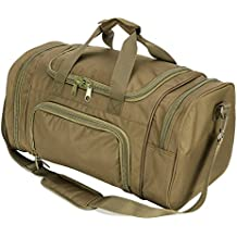 WolfWarriorX WWX Gym Bag with Shoes Compartment, Lightweight Travel Duffel Bag for Women, Men