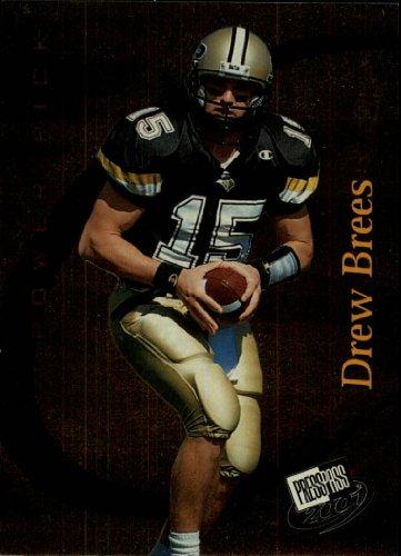 2001 Press Pass Football - 2001 Press Pass Football Card #46 Drew Brees