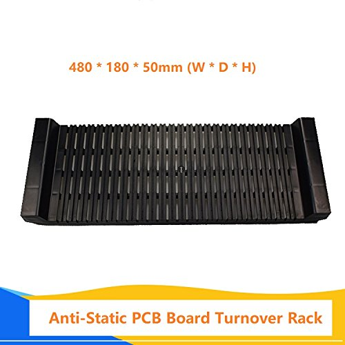 Anti-Static Pcb Board Rack Storage Stand Turnover Rack Holder Bracket Circuit Board Holder U-Shaped Stripe Card Board Pallet Brackets (Racks Pallet Used)