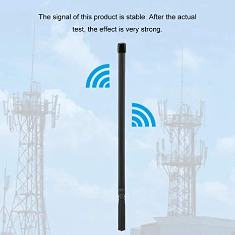Bewinner 144/430 MHz Antena Plegable SMA Hembra para Walkie Talkie VHF/UHF Antena de Banda Dual Antena Táctica para Baofeng UV-5R, UV-5RA, UV-5RC, ...