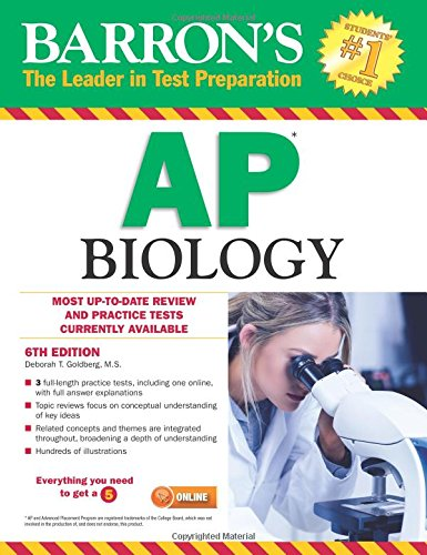 Barron's AP Biology, 6th Edition cover
