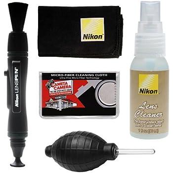 Nikon Cleaning Combo Kit: Nikon Lenspen + Anti-fog Cloth + Spray Bottle + Blower for D4S, D800, D610, D7100, D7000, D5300, D5200, D3300, D3200 Digital SLR Cameras & Lenses