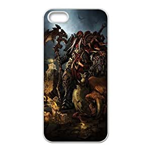iPhone 5 5s White Phone Case Darksiders Rational Cost-effective Surprise Gift Unique WIDR8611001838