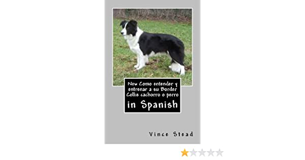 New Como entender y entrenar a su Border Collie cachorro o perro (Spanish Edition): Vince Stead: 9781492810094: Amazon.com: Books