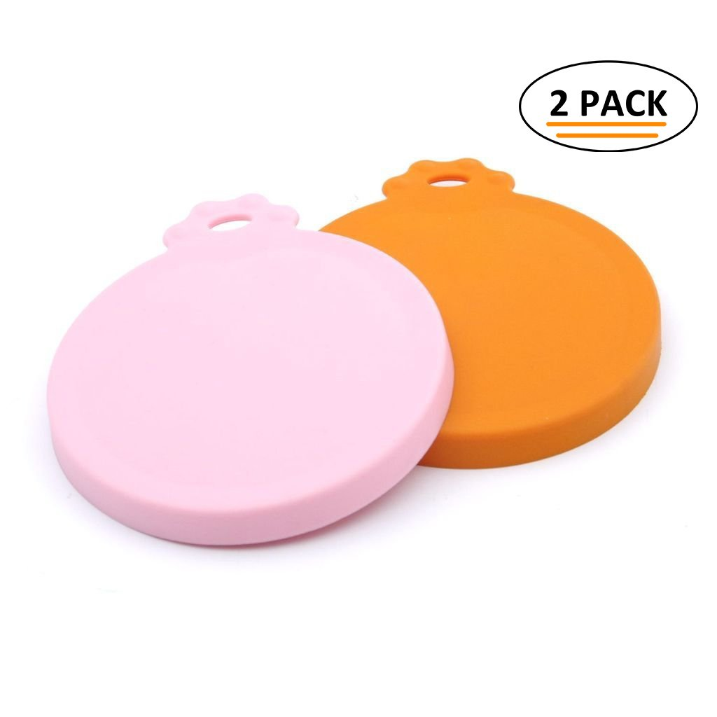 Super Design Silicone Can Cover for Multiple Sizes 1-2-Pack