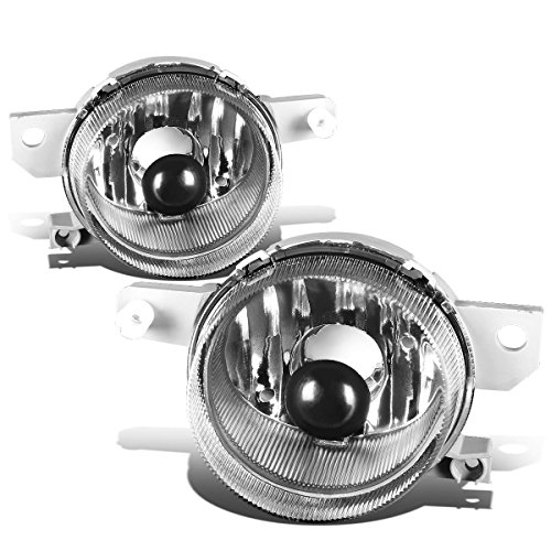 For Honda Civic Del Sol EG EH6 Pair of Bumper Driving Fog Lights (Clear Lens) Del Sol 3 Light