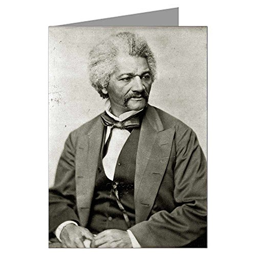 Single Greeting Card of Frederick Douglass, Black History, Social Reformer, Abolitionist, ()
