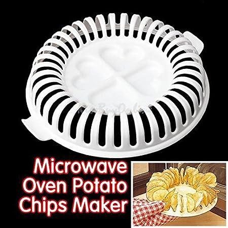 Patatas Chips bandeja para horno para microondas y hornos de grasa ...