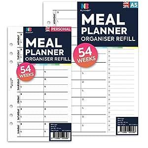 NBplanner® Planificador de comida organizador de recambio ...