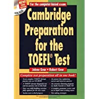 Image for Cambridge Preparation for the TOEFL® Test Book with CD-ROM (Cambridge Preparation for the TOEFL (W/CD ROM))