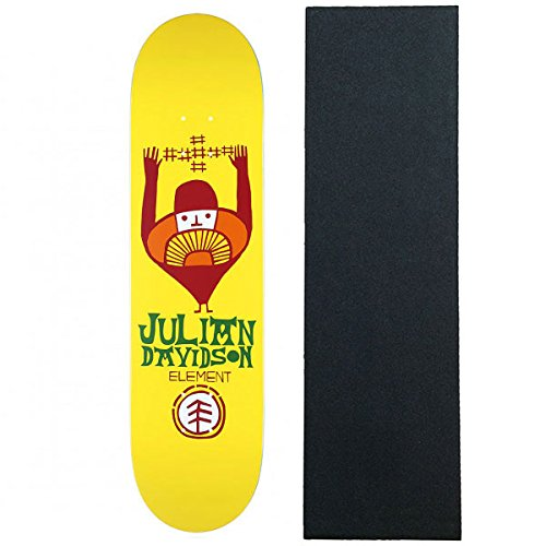 Element Skateboards Deck Julian Taldea 8.1 with Grip