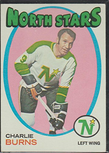1971-72 Topps Charlie Burns North Stars Hockey Card #21 ()