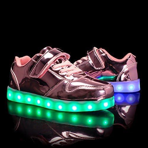 Voovix Unisex-Kinder Licht Schuhe mit Fernbedienung