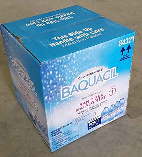 Baquacil Sanitizer Case of 4 (1/2 Gallon) Bottles by Baquacil