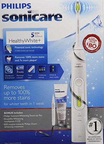 Philips Sonicare 5 Series Healthy White Holiday Toothbrush Bonus Pack by Philips Sonicare (Image #3)