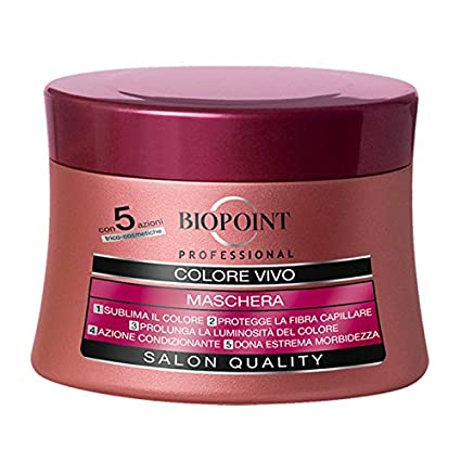 Biopoint Professional Máscara Color Vivo 250 ml: Amazon.es ...