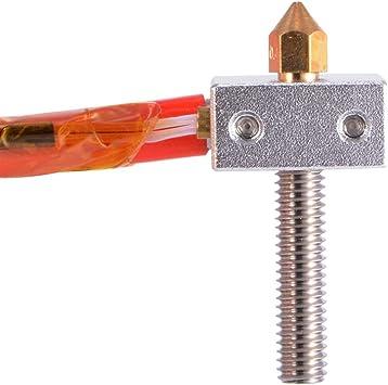 MK8 Extruder 1,75 mm 0,4 mm Boquilla Throat Filamento Calentador ...