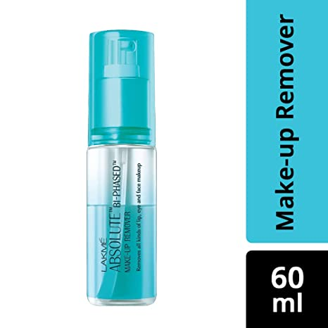 Buy Lakme Absolute Bi Phased Makeup Remover, 60ml Online at Low Prices in India - Amazon.in