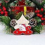 wsloftyGYd Hanging Wooden Photo Frame Christmas