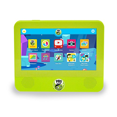 - PBS Kids Playtime 7-Inch Android 7.0 (Nougat), 1.3 GHz Quad Core 16GB Tablet DVD Player