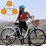 "NAKTO 26"" 250W Cargo Electric Bicycle Sporting"
