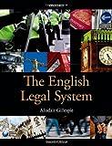 The English Legal System, Gillespie, Alisdair, 0199657092