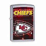 Zippo Kansas City Chiefs High Polish Chrome Lighter
