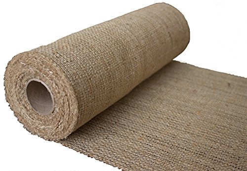 burlapper-12-natural-burlap-roll-10-yards-eco-friendly-jute-burlap-fabric-12-inch